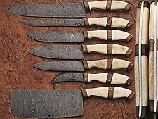 DAMASCUS BLADE KITCHEN KNIFE 7Pc's SET 1007-B WN