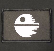 STAR WARS DEATH STAR MORALE BADGE SWAT VELCRO® BRAND FASTENER PATCH