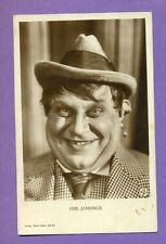 "EMIL  JANNINGS  # 655/2  EDITION  ""ROSS"" VINTAGE PH. PC. 2858"