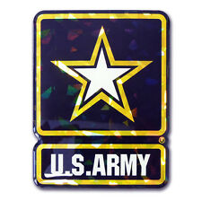 army military logo reflective 3d domed auto emblem vinyl decal usa made