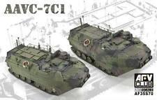 AFV Club 1:35 AAVC-7C1 Assault Amphibian Vehicle Command Model 7C1 AF35S70