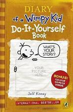 Diary of a Wimpy Kid - Do-it-yourself Book by Jeff Kinney (Paperback, 2009)