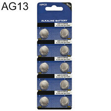 Decent 10Pcs AG13 LR44 1.5V Alkaline Button Coin Cells Watch Battery Batteries