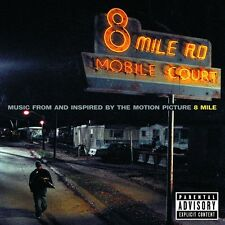 8 MILE SOUNDTRACK CD MIT EMINEM 50 CENT UVM NEUWARE!!!!