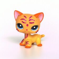 #2118 Littlest Pet Shop standing Short Hair cat LPS toys original EUROPEAN