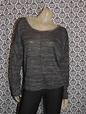 Old Navy Charcoal Gray Scoop Neck Long Sleeve Top Shirt Blouse 4XLARGE 4XL NEW