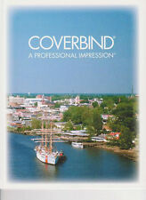 """40 COVERBIND White Print On Demand Thermal Binding Covers (1"""" 181-240 pgs)"""