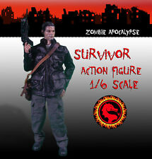 Zombie 1/6 Scale Survivor Action Figure Custom
