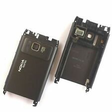 100% Genuine Nokia N8 rear housing fascia chassis inc side buttons+camera glass