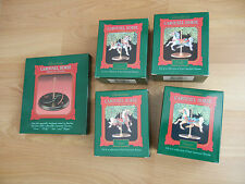 HALLMARK 1989 Carousel Hourse Set, COMPLETE SET, 5 Pieces, New in Box