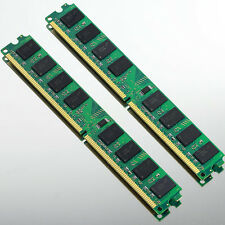 4GB KIT 2x 2GB DDR2 800 MHZ PC2-6400 240PIN For AMD Motherboard Desktop memory