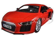 AUDI R8 V10 PLUS RED SPECIAL EDITION 1/24 DIECAST MODEL CAR BY MAISTO 31513