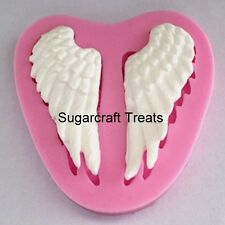 Angel Cherub Wings Fairy Baby Silicone Mould, Sugarcraft, Cake Topper, Chocolate
