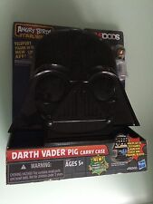 Angry Birds Star Wars Telepods Darth Vader Pig Carrying Case - New