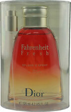 DIOR - FAHRENHEIT - FRESH - SPLASH & SPRAY - EAU DE TOILETTE - EDT - 125ML