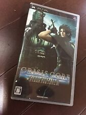 FREE SHIPPING PSP play station portable  CRISIS CORE FINAL FANTASY 7 JAPAN