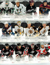 2003-04 SP AUTHENTIC HOCKEY 90-CARD BASE SET LOADED W/STARS