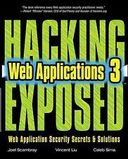 Hacking Mcgraw Hill - Hacking Exposed Web Applic 3e (2010) - New - Trade Pa