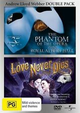 Love Never Dies / Phantom Of The Opera - 25th Anniversary Edition (DVD, 2012, 2…