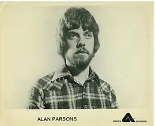 Vintage B&W Publicity Photo of  Rock and Roller Alan Parsons