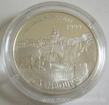 France 100 Francs = 15 Euro 1997 Luxembourg Silver