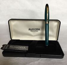 Aurora Fountain Pen  -  Penna Stilografica Aurora  -  B11 Ipsilon (Green)