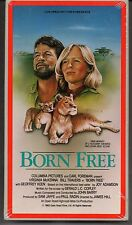 Born Free SEALED 1984 VHS Africa Lions Elsa