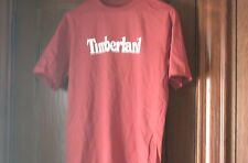 timberland t-shirt S/S red with white timberland size XL NWT IN SEALED BAG NEW