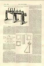 1896 Three Wire Cutting Straightening Machine Taylor Hattersley Brighouse