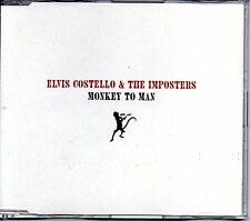 ★ MAXI CD Elvis COSTELLO & THE IMPOSTERS	Monkey to man - Promo 1-track jewel   ★