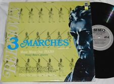 FRANZ BAUER 3 Marches Opus 45 MUSIC MINUS ONE PIANO 414 LP