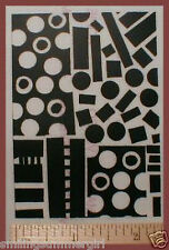 ATC Deep Etched Unmounted Rubber Art Stamp for Paper Clay Shrink Art Projects #8