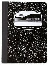 Mead Composition Notebook, College-Ruled, 100 Sheets, 12 Pack