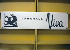 Vauxhall Viva workshop / garage banner
