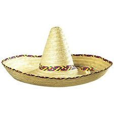 Giant Sombrero Decorated 65cm Mexican Hats Caps & Headwear For Fancy Dress
