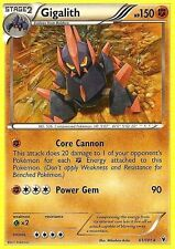 BW NOBLE VICTORIES POKEMON RARE CARD - GIGALITH 61/101