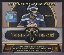 2015 Topps Triple Threads Football sealed hobby box