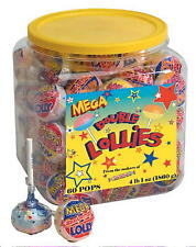 MEGA Double Lollies by Smarties 60 ct. jar GIANT SIZE!