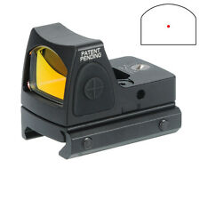 RMR Style Miniature Reflex Red Dot Sight 1913 Picatinny Airsoft Glock 17 Mount