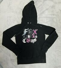 Fox Racing Fox Womens Vicious Pullover Hoody Black Size Small