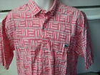 Quiksilver 1980's day glo surfer dude shirt XL or loose large retro vintage