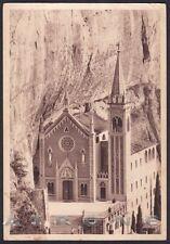 VERONA MADONNA della CORONA 09 SPIAZZI - SANTUARIO Cartolina viaggiata 1940