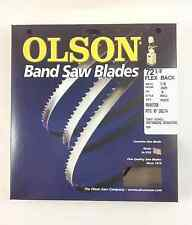 "Olson Band Saw Blade 72-1/2"" to 72-5/8"" x 1/8"", 14TPI for Delta 28-195 & ot"