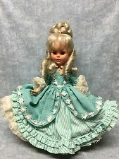Vintage Furga doll Adriana Platinum Blonde original clothing  ITALY