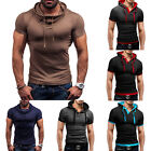 2015 New Fashion Men's Stylish Slim Fit Short Sleeve Polo Shirts T-shirt HOT