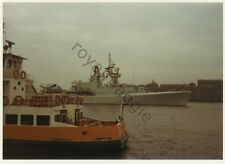 3 colour prints of Canadian Navy destroyer DDH233 HMCS Fraser at Newcastle