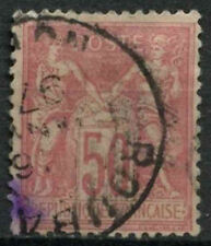 France 1898 SG#271, 50c Rose Type II Used #D8624