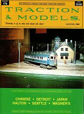 Traction & Models Magazine : Run No 178 : August 1980 : Chinese Detroit Japan