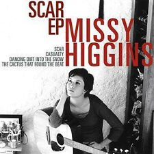 "MISSY HIGGINS ""ScarEP"" 2004 4Trk CD  ""Casualty,DancingDirtIntoTheSnow,TheCactus"""