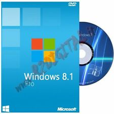 WINDOWS 8.1 PROFESSIONAL DVD PACK ADESIVO PRO 8 32 64 BIT LICENZA OEM ORIGINALE